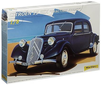 Heller - 80799 - Construction Et Maquettes - Citroen 15 Cv                             - Echelle 1/8ème