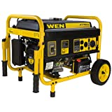 WEN 56475 4750-Watt Gasoline Powered Portable Generator with Electric Start, CARB Compliant (Tamaño: Single Fuel (4,750W))