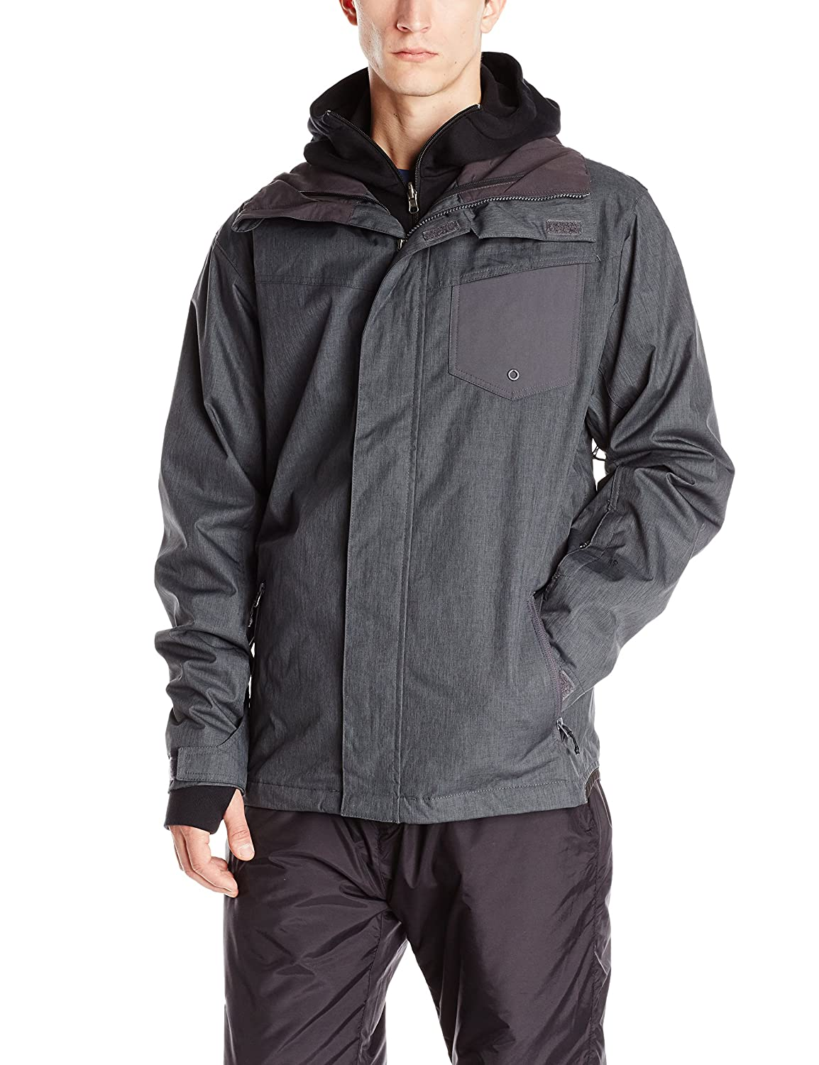 quiksilver herren snowboard jacke mission syst jacket online kaufen. Black Bedroom Furniture Sets. Home Design Ideas