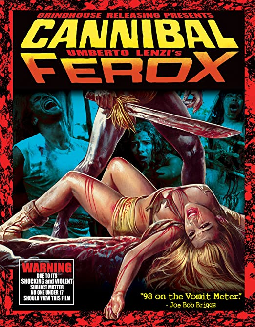Cannibal Ferox (Blu-ray Deluxe Edition)
