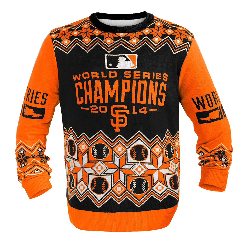 San Francisco Giants Ugly Christmas Sweaters