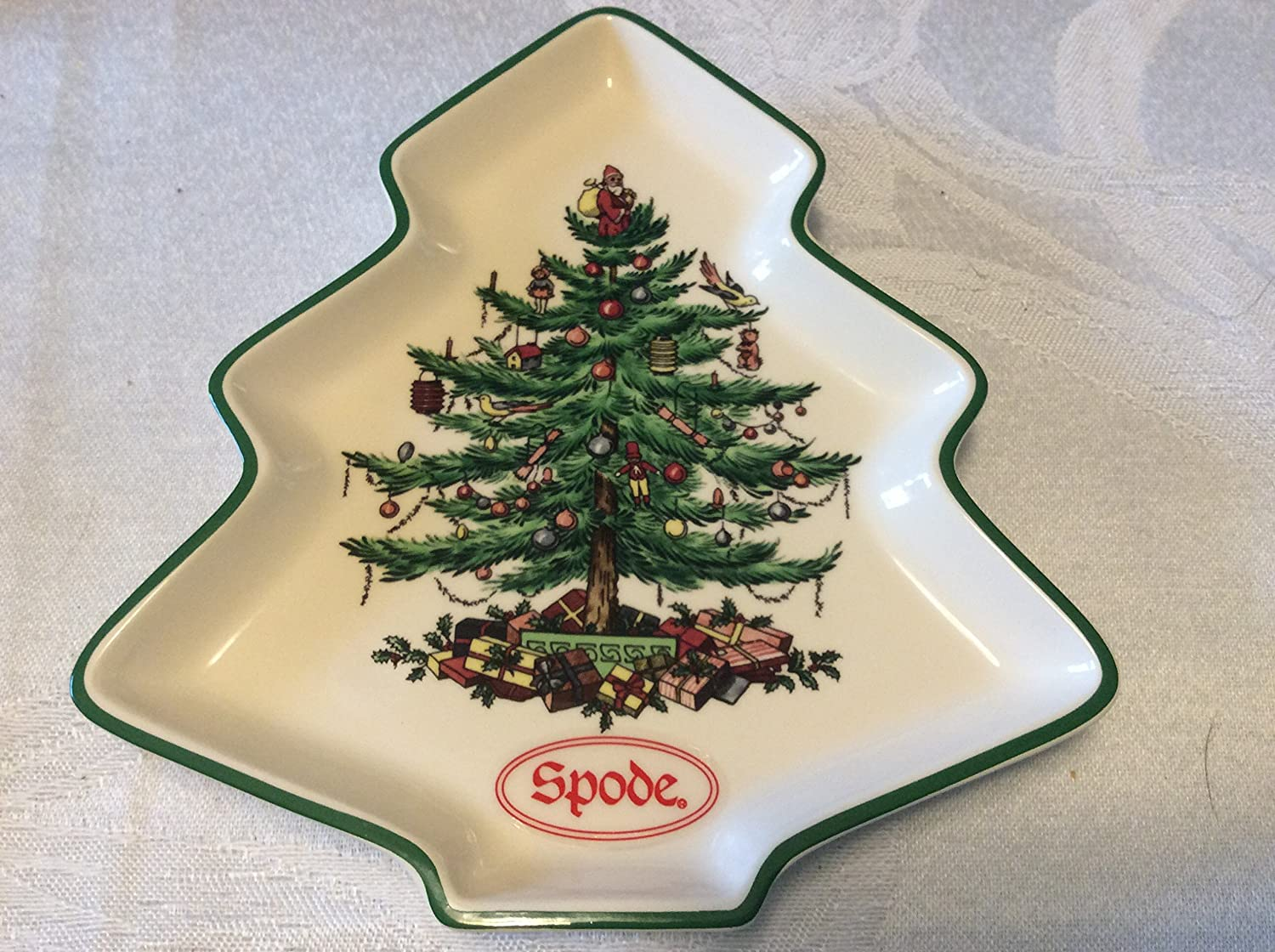 Spode Christmas Tree Bathroom Accessories