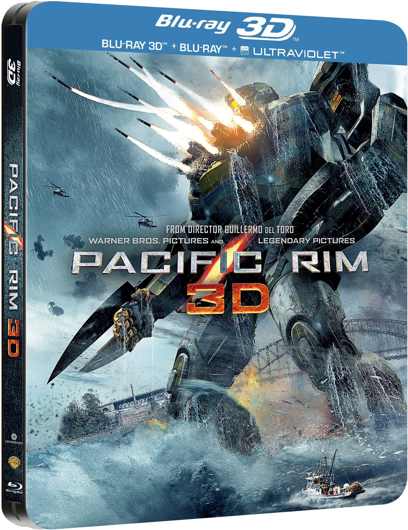 Pacific Rim (Blu-ray Steelbook) - Page 8 - Blu-ray Forum Pacific Rim Blu Ray Cover