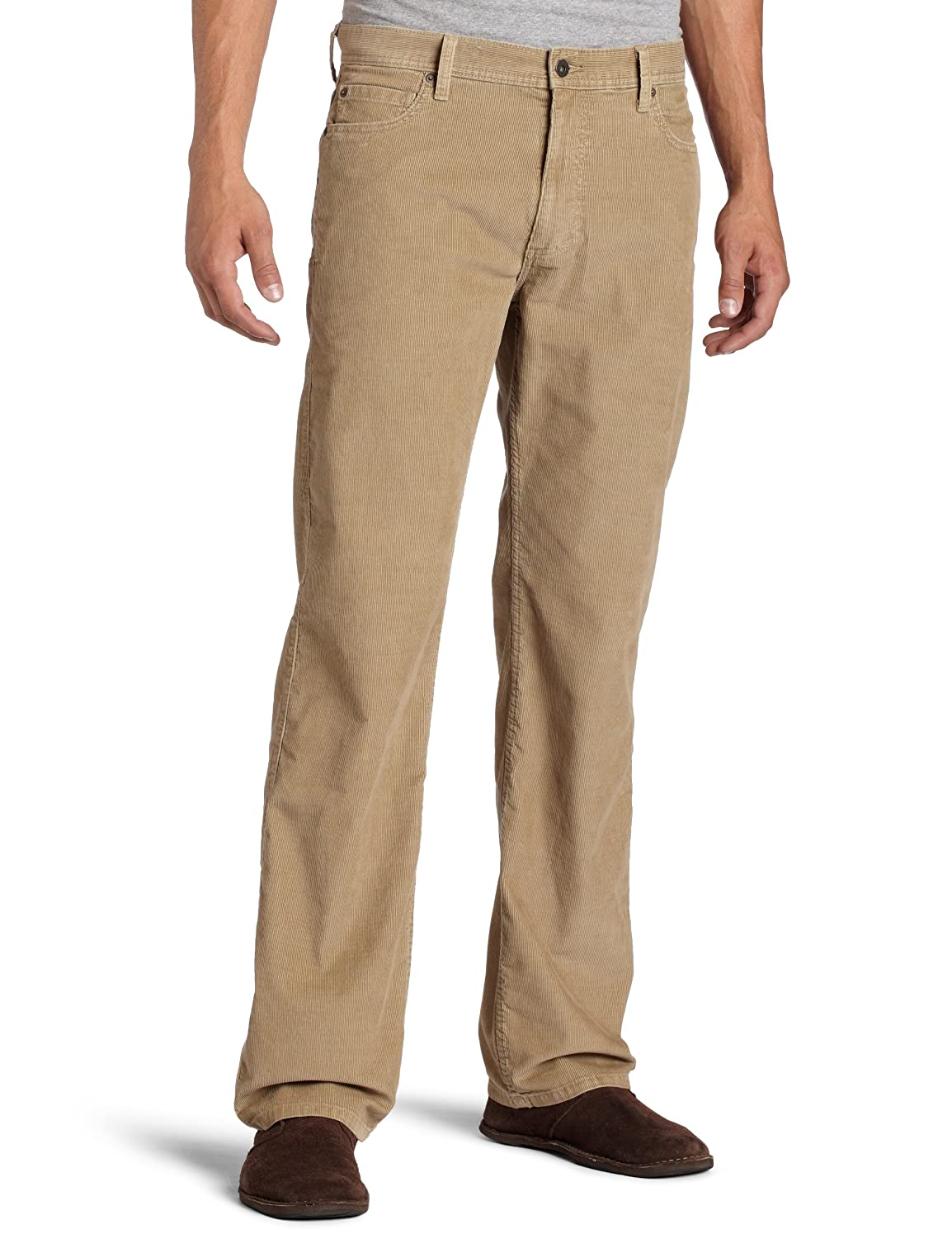 $11 for Dockers Mens 5 Pocket Khaki D3 Classic Fit Flat Front Cord Pant