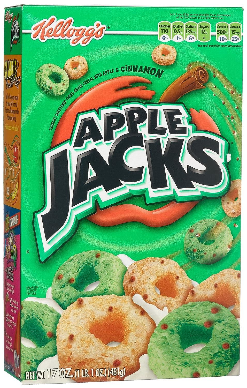 Apple Jacks Cereal Box Amazon.com Apple Jacks Cereal