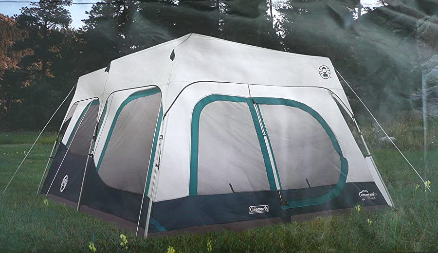 coleman 10 person instant tent & LUXURY CAMPING TENTS | Reviews Comparisons Ratings