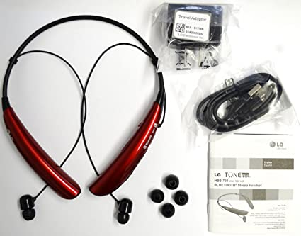 LG Tone Pro HBS 750 Wireless Bluetooth Stereo Headset