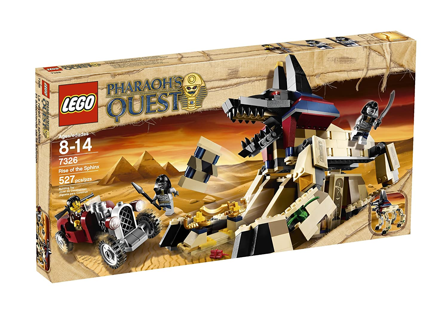 LEGO Pharaohs Quest Rise of the Sphinx 7326 (japan import) als Geschenk