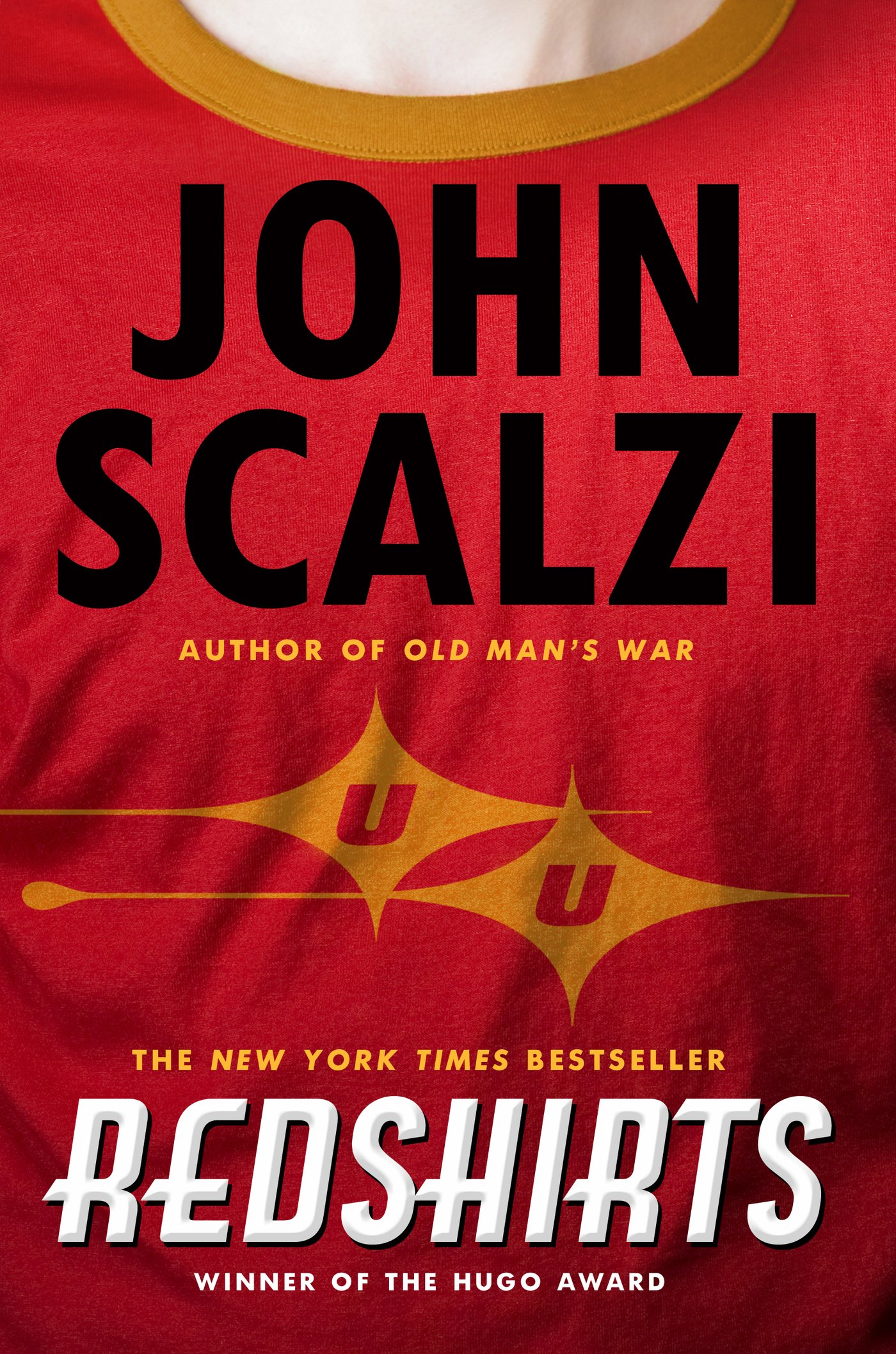 http://www.amazon.com/Redshirts-Novel-Three-John-Scalzi/dp/0765334798/ref=sr_1_1?ie=UTF8&qid=1425080334&sr=8-1&keywords=redshirts