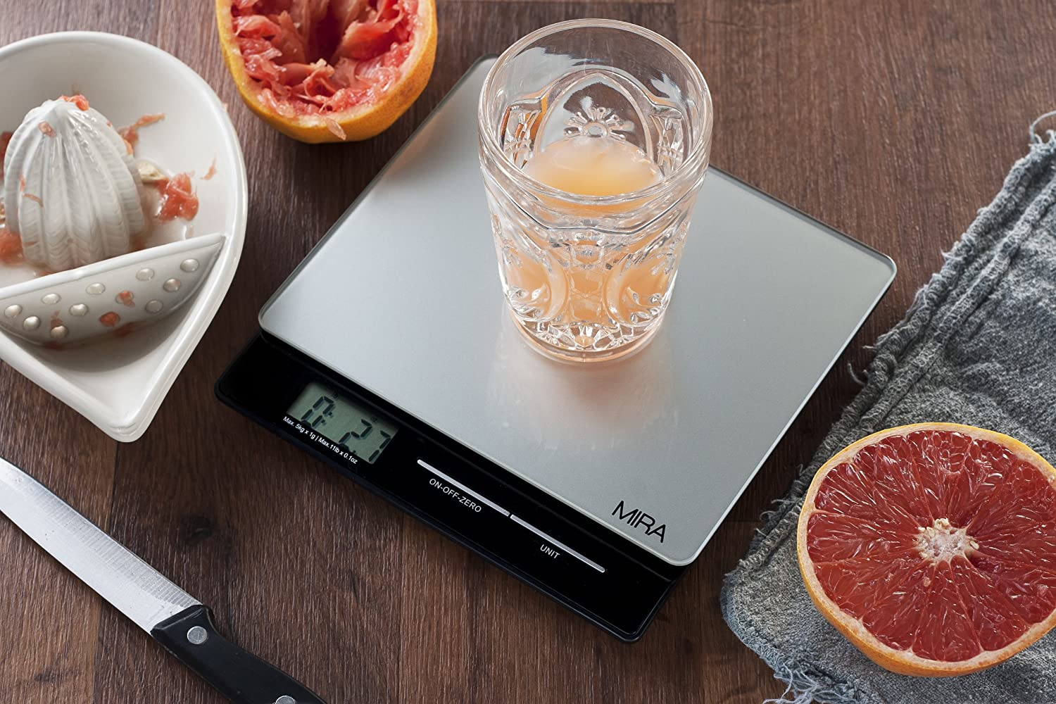 Save 51% On MIRA Digital Kitchen Scale - Food Scale for $22.95 91HybsaZiAL._SL1500_