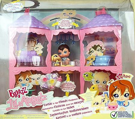 Bratz - Lil' Angelz - Maisonette Château dans les Nuages - Série Collector - #811 Charli & #812 Chien inclus!
