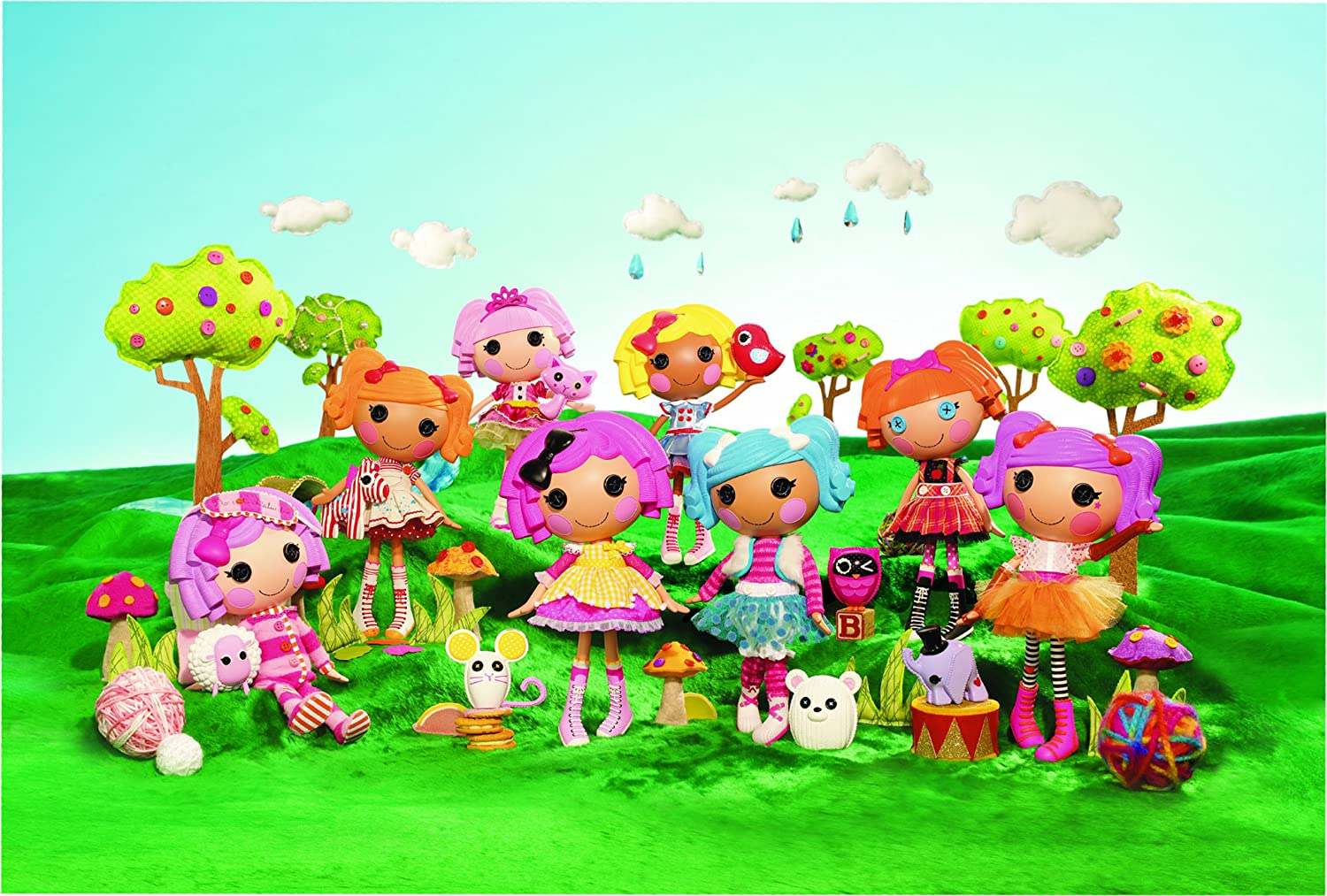 The Gallery For Lalaloopsy Wallpaper