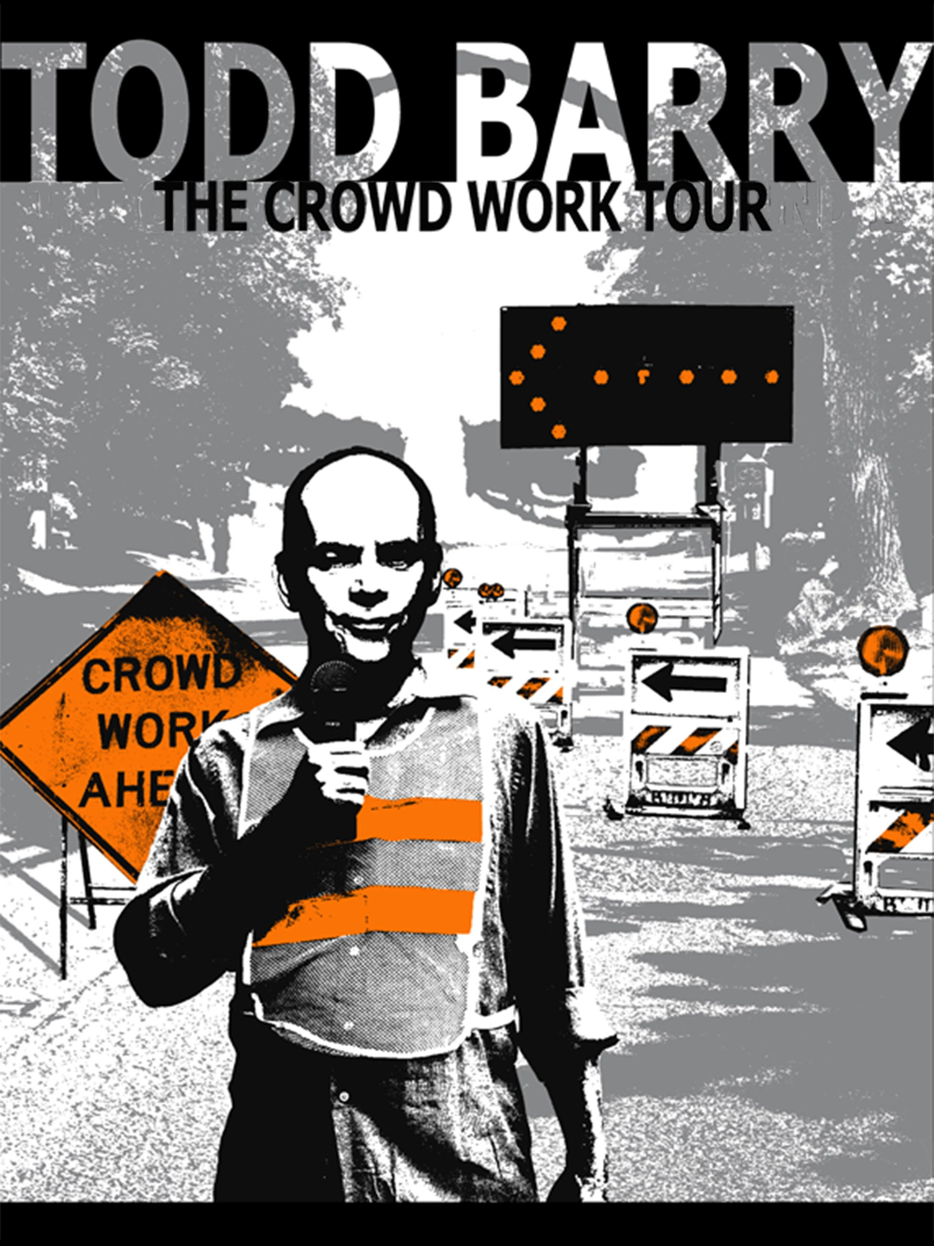 Todd Barry: The Crowd Work Tour on Amazon Prime Video UK