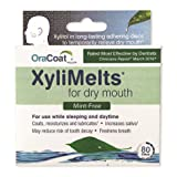 XyliMelts for Dry Mouth, Mint-Free, 80-Count Box (Tamaño: 80 count)