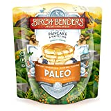 Paleo Pancake and Waffle Mix by Birch Benders, Low-Carb, High Protein, High Fiber, Gluten-free, Low Glycemic, Prebiotic, Keto-Friendly, Made with Cassava, Coconut and Almond Flour, 42 Ounce 1-pack (Tamaño: 1 Pack)