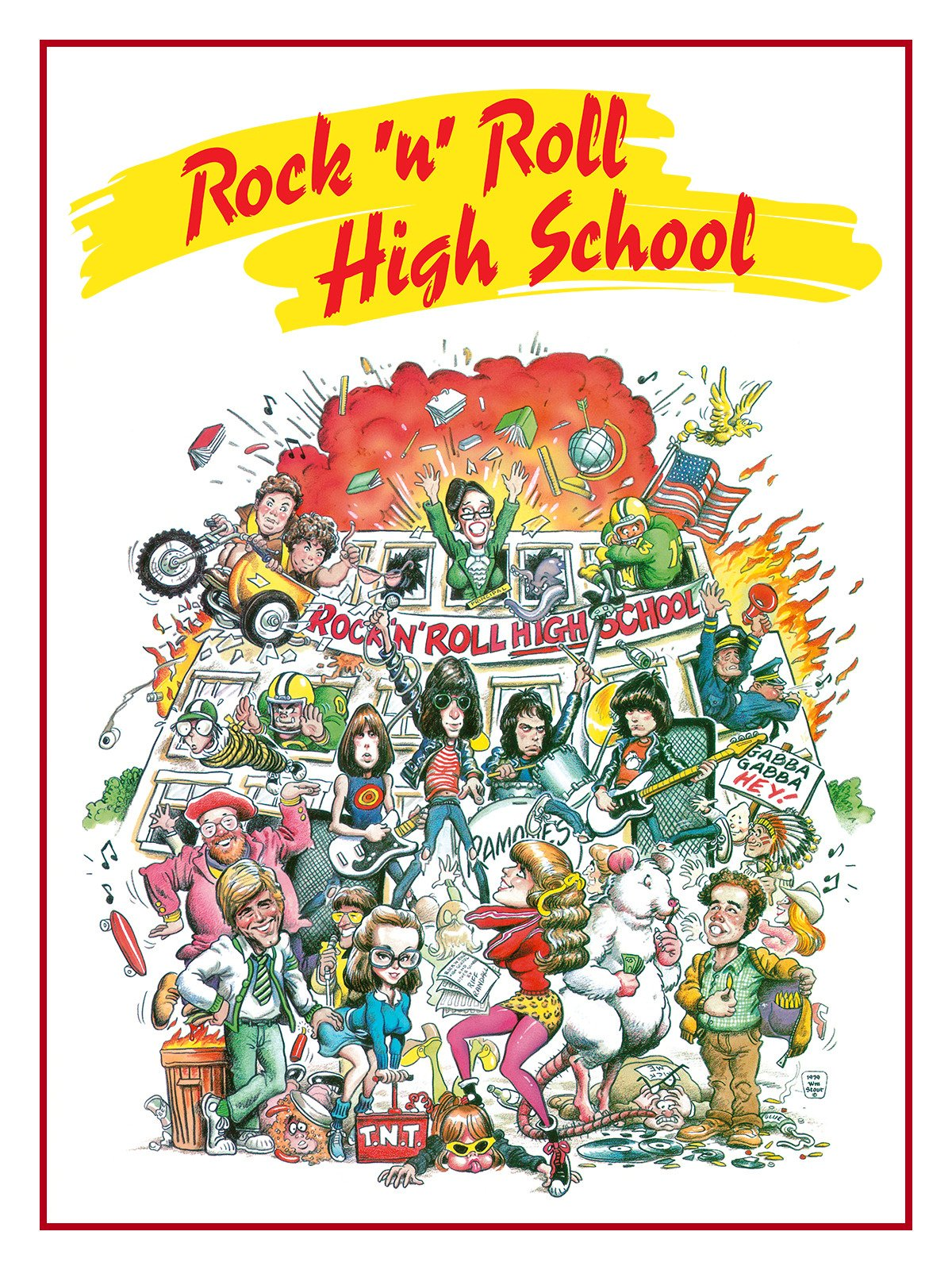 Rock 'n' Roll High School on Amazon Prime Video UK