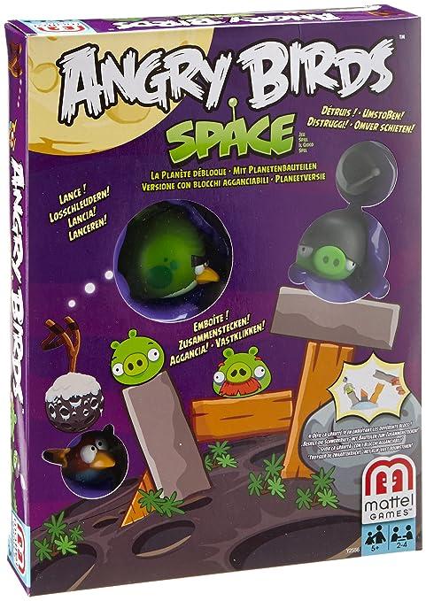 Mattel – Y2556 – Angry Birds Space – La Planète Débloque – Jeu d'Action (Import Royaume-Uni)