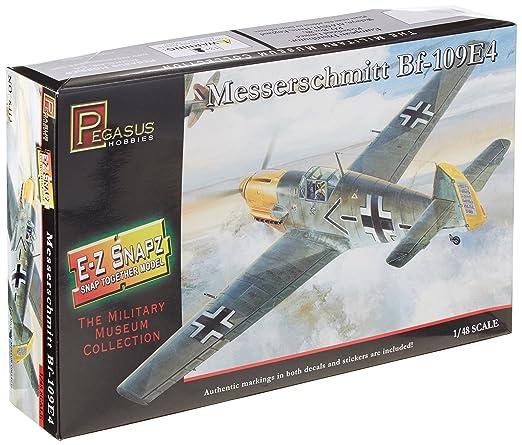 Pegasus Hobbies 1/48 Snap, Messersch Bf-109E4 PGH8412 (japan import)