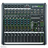 Mackie PROFX12v2 12 Ch. Compact Mixer w Effects and USB+SKB Universal Mixer Bag