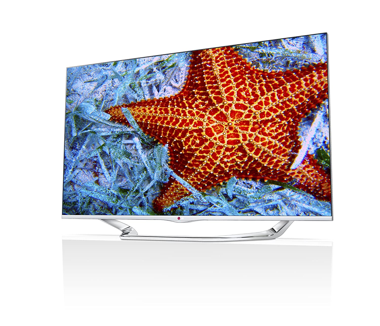 LG Electronics 60-Inch Cinema Screen Cinema 3D 1080p 240Hz LED-LCD HDTV with Smart TV and 3D Glasses $1999