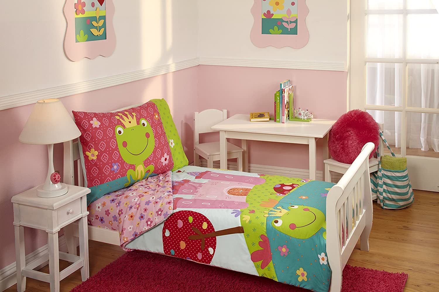 Everything Kids Toddler Bedding Set  Fairytale. Beautiful Frog Bedroom Decor Ideas for Frog Lovers