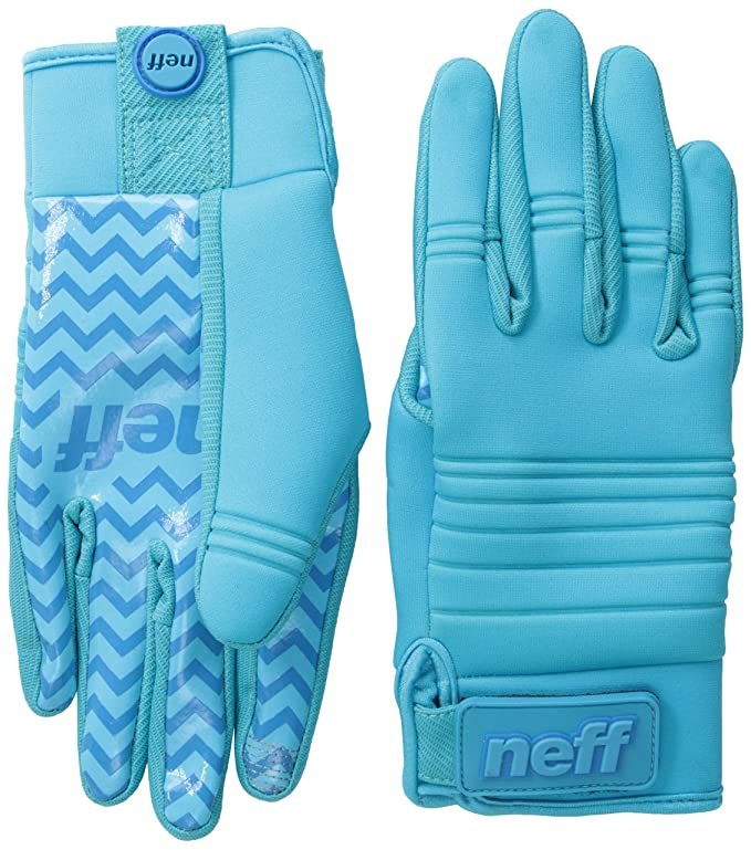 neff Men's Daily Pipe Glove, Cyan, Medium