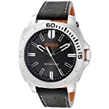 BOSS Orange Men's 1513295 Sao Paulo Analog Display Japanese Quartz Black Watch