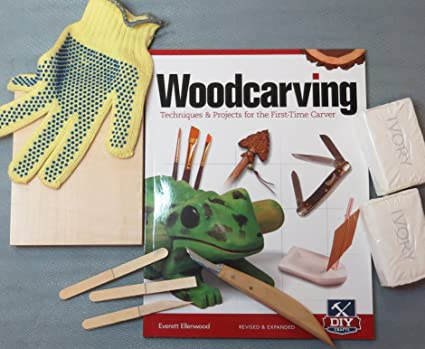 wood carving kits for kids