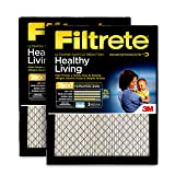 Filtrete 20x30x1, AC Furnace Air Filter, MPR 2800, Healthy Living Ultrafine Particle Reduction, 2-Pack (Color: red, Tamaño: 20 x 30 x 1)