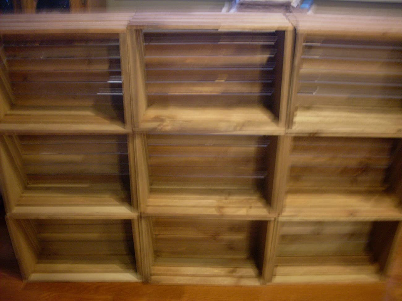 Rustic Nesting Wood Crates Set of 5 Made in the USA 1