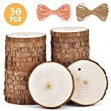 5ARTH Natural Wood Slices - 30 Pcs 2.7