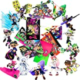 Splatoon 2 4x4''Stickers Pack 20-Pcs, GTOTd Vinyl Waterproof Colorful Stickers for Car, Laptop, Luggage, Skate Board, Motorcycle, Bicycle Decal Graffiti Patches (Not Random) (Color: Minecraft)