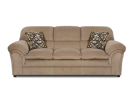 Simmons Upholstery 6150-03 Harper Cocoa Sofa
