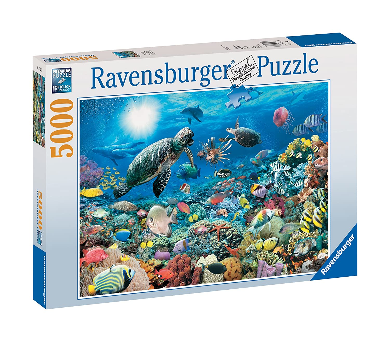 Ravensburger 17426 - Leben im Korallenriff