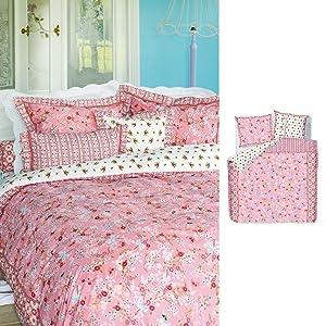 PiP Bettwäsche Chinese Blossom 135x200+80x80 pink    Überprüfung und weitere Informationen