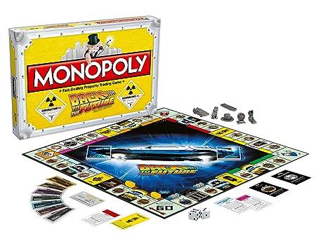 Jeu Monopoly Retour vers le futur
