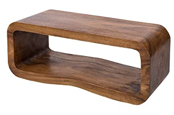 Wooden Table (90x35cm) made from solid wood (Albizia lebbeck)