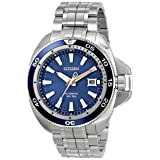 Citizen Men's NB1031-53L Grand Touring Analog Display Automatic Self Wind Silver Watch (Color: blue)