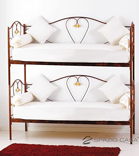 Canapé lit superposé Marilyn gris