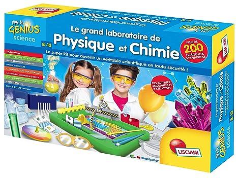 Lisciani - FR59683 - Jeu Educatif - Le Grand Laboratoire de Physique et Chimie