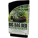 Smart Pots 12100   Big Bag Bed Fabric Raised Bed (Color: Black, Tamaño: Original)