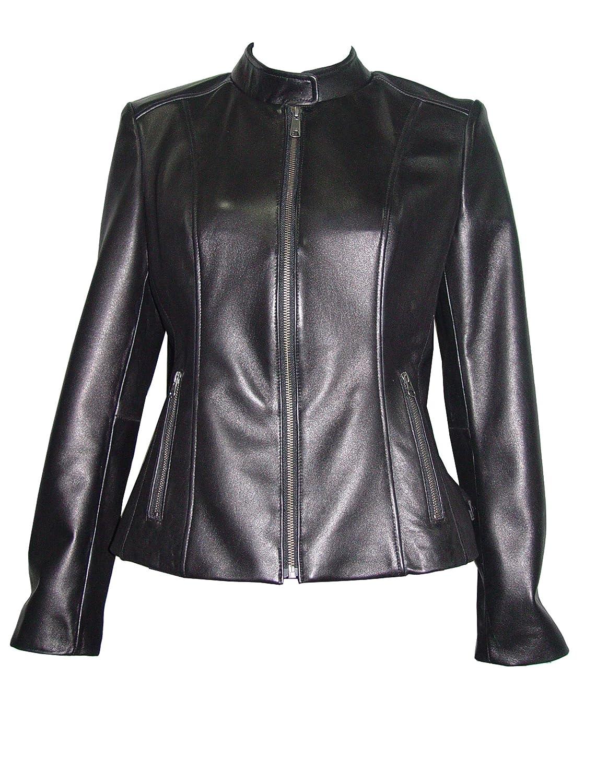 Nettailor WoHerren 4062 Lamm Leder Motorrad Jacke online bestellen