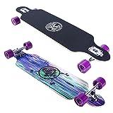 Karnage Drop Through Longboard (Purple) (Color: Purple)