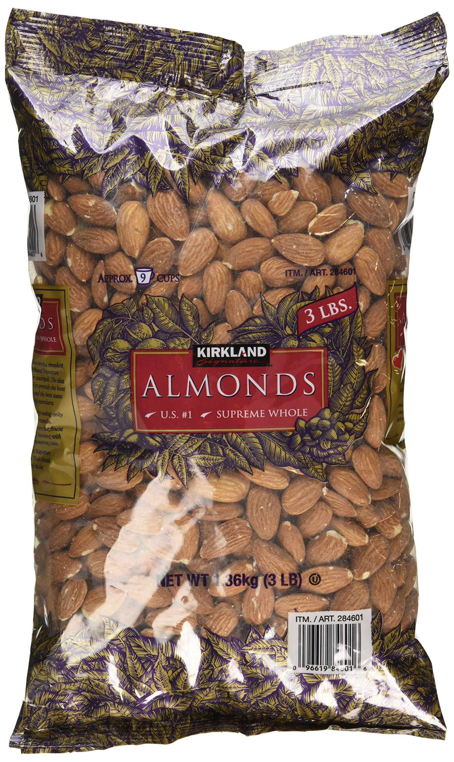 Supreme Whole Almonds