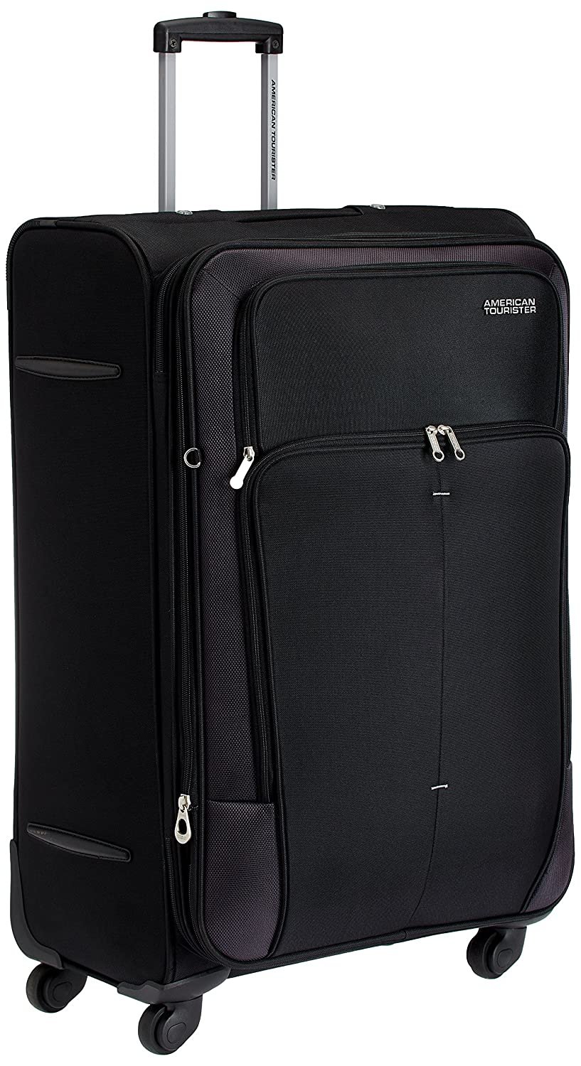 American Tourister Crete Polyester 77cms Black Softsided Suitcase (49W (0) 09 003) By Amazon @ Rs.5,369