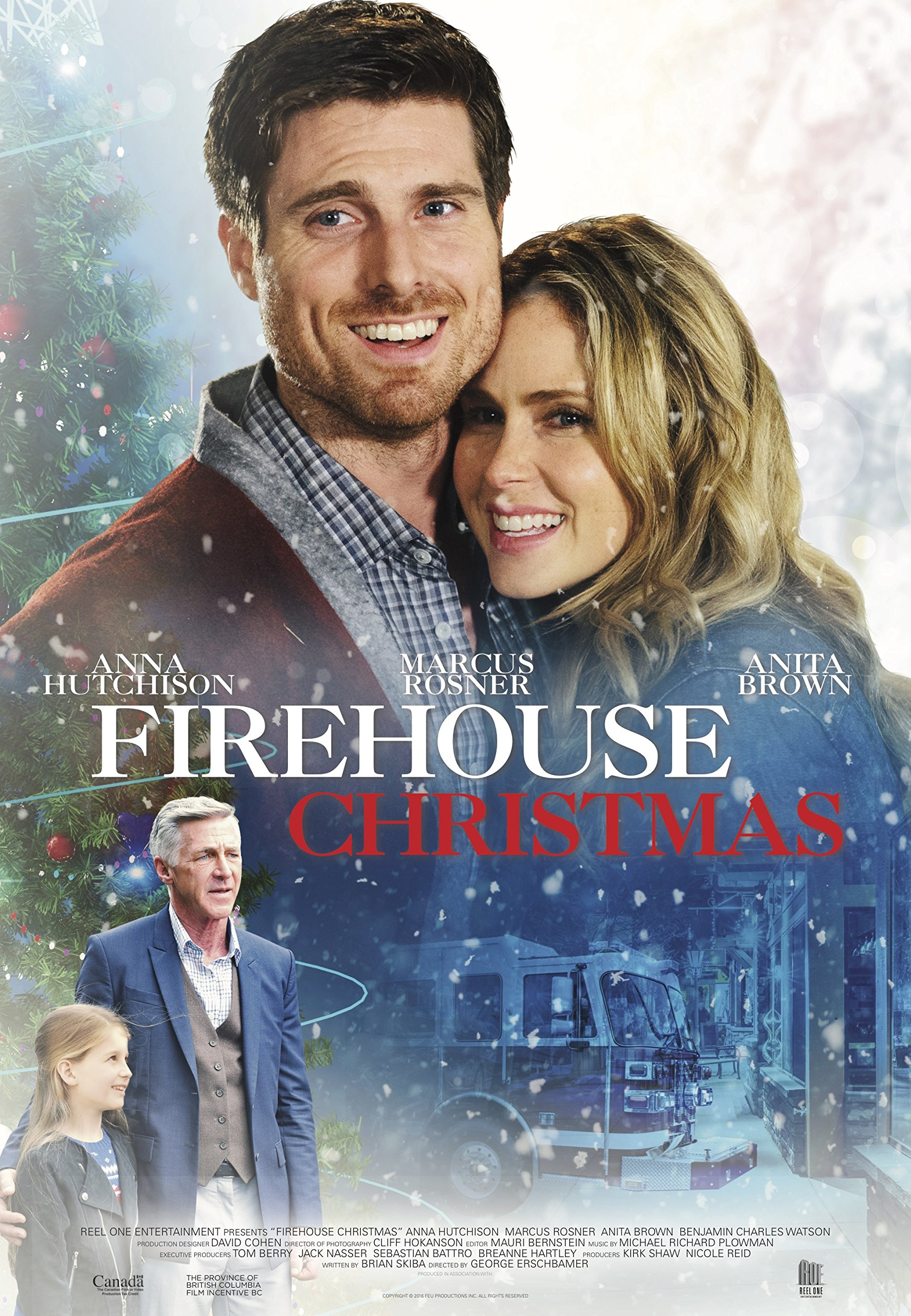 Book Cover: Firehouse Christmas