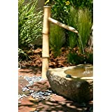 Bamboo Accents Tall Water Fountain Spout, 36