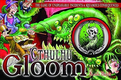 Atlas Games - 330095 - Jeu De Cartes - Gloom - Cthulhu