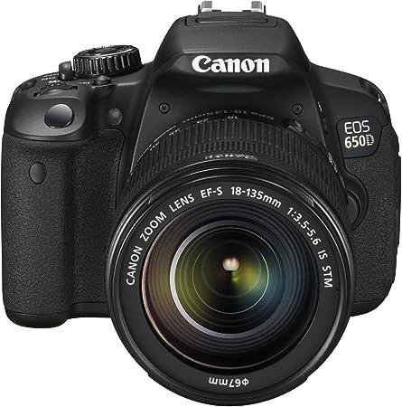 Canon EOS 650D Appareil photo numérique Reflex 18 Mpix Kit Objectif 18-135mm IS Noir
