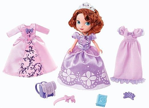 Disney - Princesse Sofia - Robes Royales - 1 Mini Poupée et Accessoires